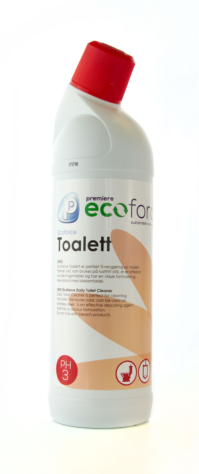 Ecoforce Toalett Daily toilet cleaner   * fl a 1 lt