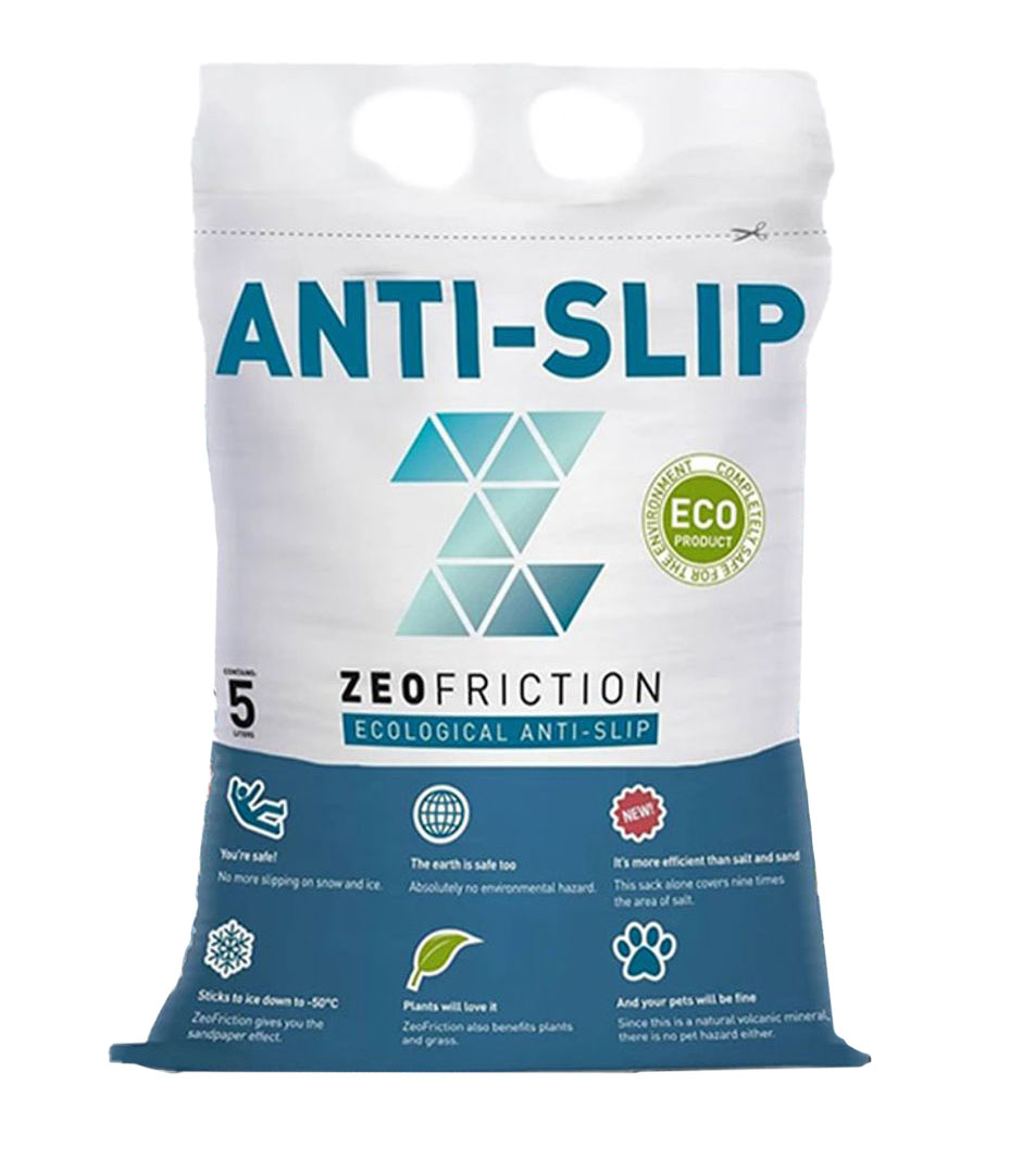 ZeoFriction Anti-Slip    *Sekk a 5 lt